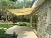 Outdoor Garden Patio Garage Metal Aluminum Waterproof Retractable Vertical Electric Awning
