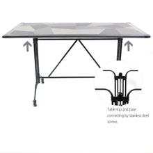 Wholesale Metal Garden Set Dining Tops Tables Patio Ceramic Table