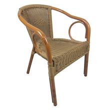 Furniture Rattan Outdoor And Restaurant Aluminium Bamboo Bistro Chair