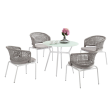 Outdoor Garden Bistro Patio Round Small Table And Chairs