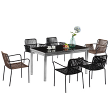 Modern Glass Dining Room Tables And Chairs Design