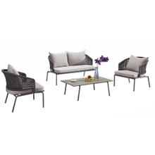 Garden Patio Cheap Furniture Aluminium Rattan Sofa Sets Sale