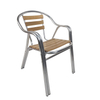 Modern Bistro Factory Restaurant Dining Solid Wood Seat Chairs