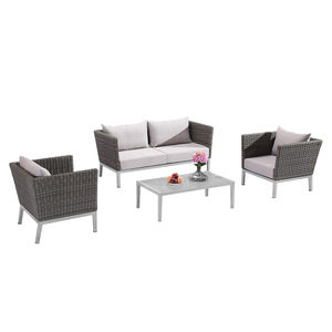 Outdoor Corner Sectional Rattan Sofa Set