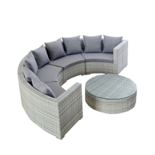 Outdoor Cheap Modular Sectional Corner Seating Furniture Sets